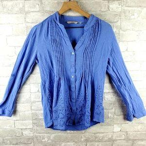 Light Blue Soft Surroundings Blouse | M